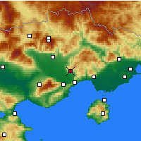 Nearby Forecast Locations - Filippoi - карта