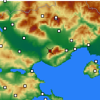 Nearby Forecast Locations - Rodolivos - карта
