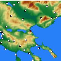 Nearby Forecast Locations - Stavros - карта