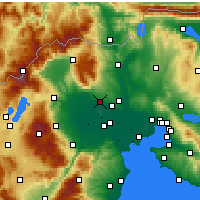 Nearby Forecast Locations - Янница - карта