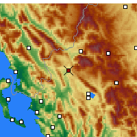 Nearby Forecast Locations - Kalpaki - карта