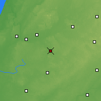 Nearby Forecast Locations - Goshen - карта
