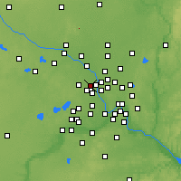 Nearby Forecast Locations - Mine./Crystal - карта