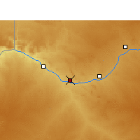 Nearby Forecast Locations - Lutzburg - карта