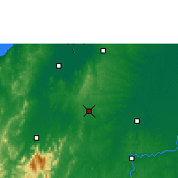Nearby Forecast Locations - Planeta Rica - карта