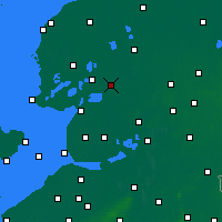 Nearby Forecast Locations - Херенвен - карта