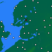 Nearby Forecast Locations - Skarsterlân - карта