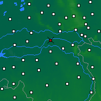 Nearby Forecast Locations - Beneden-Leeuwen - карта