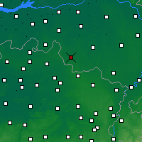 Nearby Forecast Locations - Bladel - карта