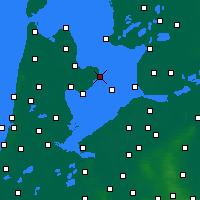 Nearby Forecast Locations - Энкхёйзен - карта