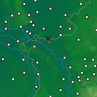 Nearby Forecast Locations - Gendringen - карта