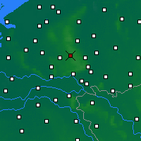 Nearby Forecast Locations - Hoenderloo - карта