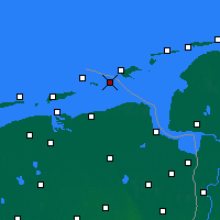 Nearby Forecast Locations - Rottumeroog - карта
