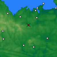 Nearby Forecast Locations - Брон - карта