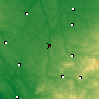 Nearby Forecast Locations - L'Isle-Jourdain - карта