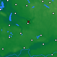 Nearby Forecast Locations - Sułowo - карта
