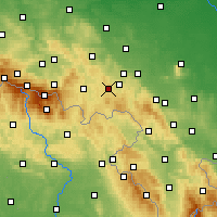 Nearby Forecast Locations - Богушув-Горце - карта
