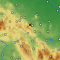 Nearby Forecast Locations - Дзержонюв - карта