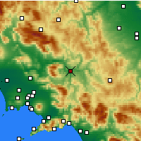 Nearby Forecast Locations - Беневенто - карта
