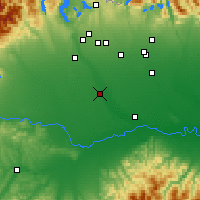 Nearby Forecast Locations - Виджевано - карта