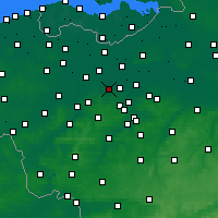Nearby Forecast Locations - Веттерен - карта