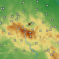 Nearby Forecast Locations - Podgórzyn - карта