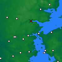 Nearby Forecast Locations - Вайле - карта
