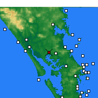 Nearby Forecast Locations - Paparoa - карта