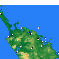 Nearby Forecast Locations - Whangaroa - карта