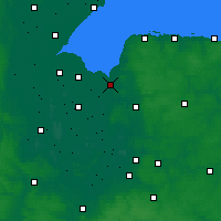 Nearby Forecast Locations - King's Lynn - карта
