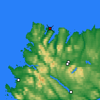 Nearby Forecast Locations - Durness - карта