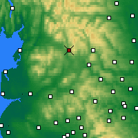 Nearby Forecast Locations - Settle - карта