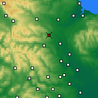 Nearby Forecast Locations - Richmondshire - карта