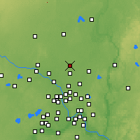 Nearby Forecast Locations - Ист-Бетел - карта
