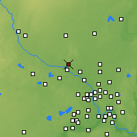 Nearby Forecast Locations - Элк-Ривер - карта