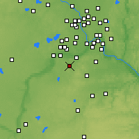 Nearby Forecast Locations - Прайор-Лейк - карта