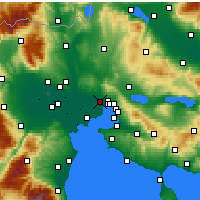 Nearby Forecast Locations - Stavroupoli - карта