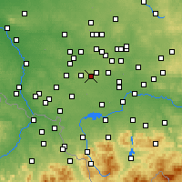 Nearby Forecast Locations - Лазиска-Гурне - карта