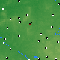 Nearby Forecast Locations - Кемпно - карта