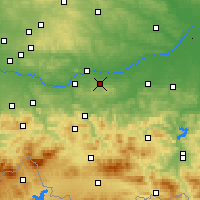 Nearby Forecast Locations - Величка - карта