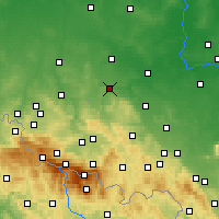 Nearby Forecast Locations - Злоторыя - карта