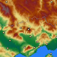 Nearby Forecast Locations - Lailias - карта