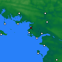 Nearby Forecast Locations - Mesquer - карта