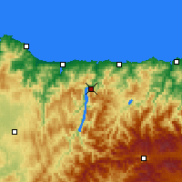 Nearby Forecast Locations - Castrillón - карта
