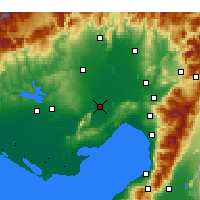 Nearby Forecast Locations - Джейхан - карта
