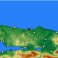 Nearby Forecast Locations - Bagirkanli - карта