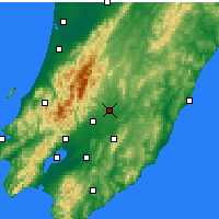 Nearby Forecast Locations - Masterton - карта