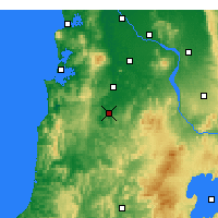 Nearby Forecast Locations - Te Kuiti - карта