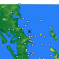 Nearby Forecast Locations - Te Arai Point - карта