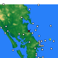 Nearby Forecast Locations - Waipu Cove - карта